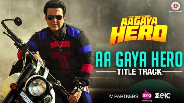 Aa Gaya Hero Title TrackSong Lyrics