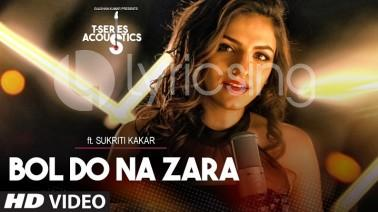 Bol Do Na Zara Acoustic Lyrics