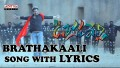 Brathakaali Song Lyrics