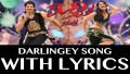 Darlingey Song Lyrics