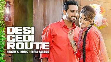 Desi Gedi Route Song  Lyrics