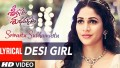 Desi Girl Song Lyrics