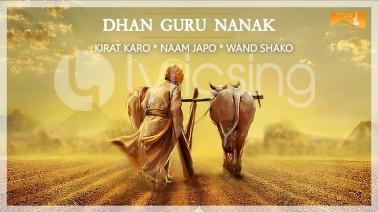 Dhan Guru Nanak song Lyrics