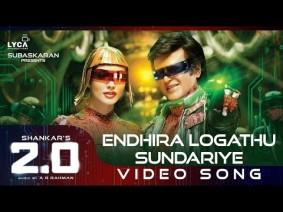 Endhira Logathu Sundariye Song Lyrics