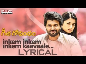 Inkem Inkem Inkem Kaavaale Song Lyrics