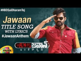 Jawaan Title Song Lyrics
