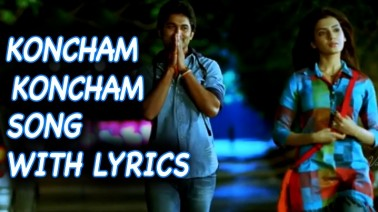 Konchem Konchem Song Lyrics