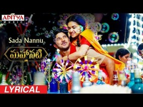 Sada Nannu Song Lyrics