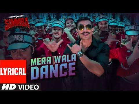 Mera Wala Dance Song Lyrics From Simmba