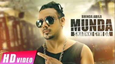 Munda Shaunki Gym Da Song Lyrics