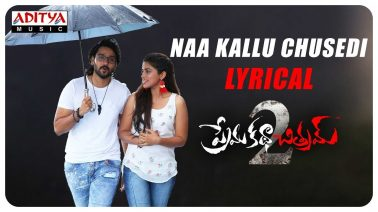 Naa Kallu Chusedhi Song Lyrics