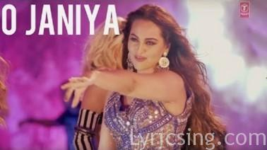 O Janiya Song Lyrics