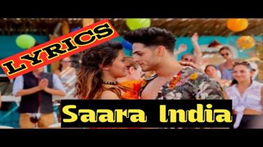 Saara India Song Lyrics