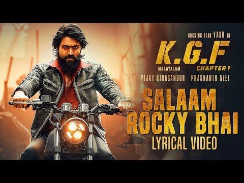 Salaam Rocky Bhai Song Lyrics