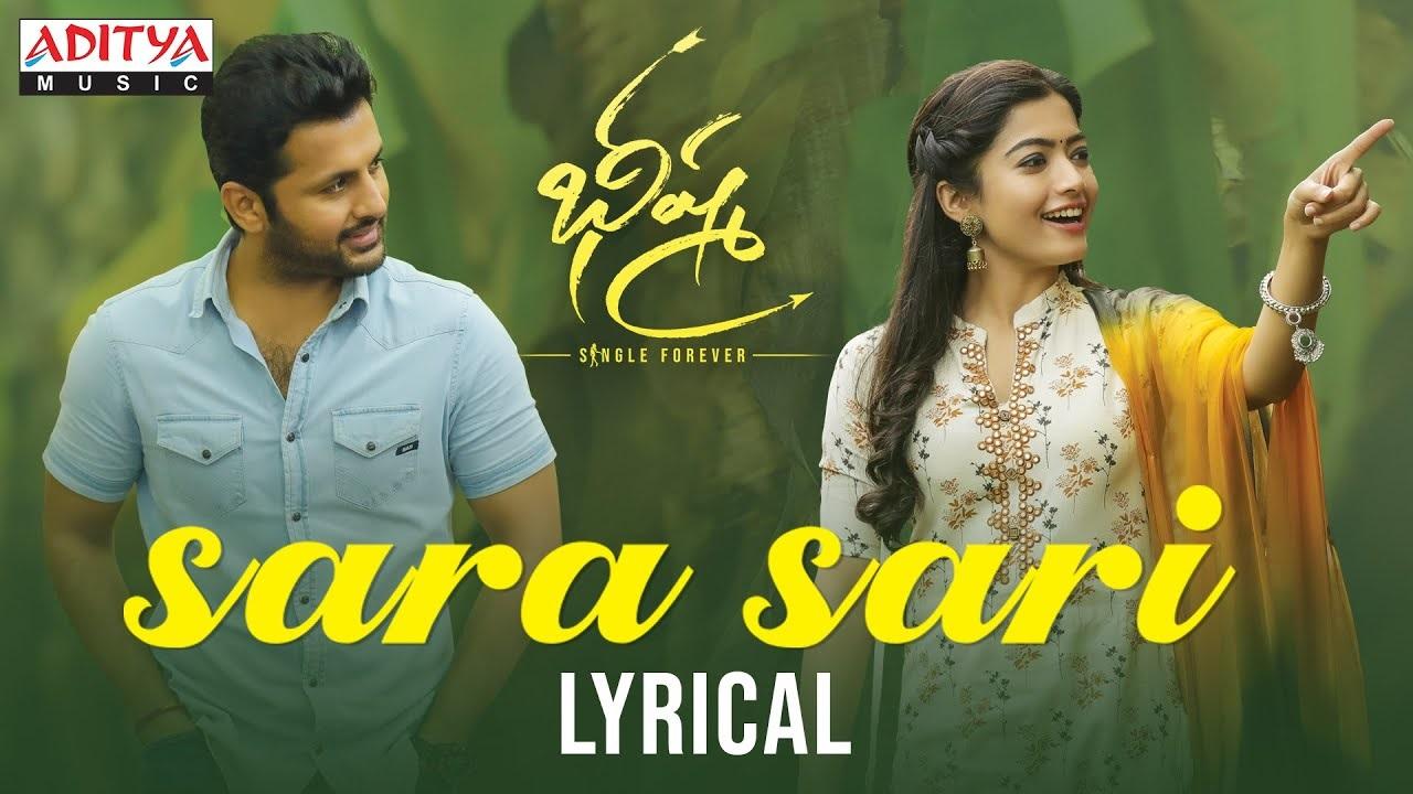 Sara Sari Song Lyrics From Bheeshma