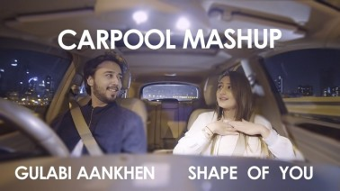 Shape Of You / Gulabi Aankhen (Carpool Mashup) Song Lyrics