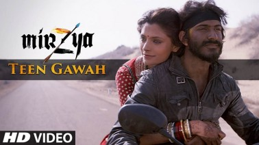 Teen Gawah Song lyrics