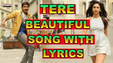 Tere Beautiful Anke Song Lyrics