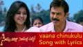 Vaana Chinukulu Song Lyrics