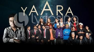 Yaara – Jammin Anthem Song Lyrics