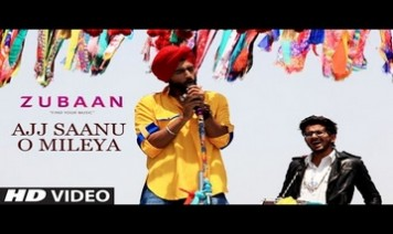Ajj Saanu O Mileya Song Lyrics
