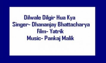 Dil Vaale Dil Gira Huwa Song Lyrics