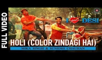 Holi (Color Zindagi Hai) Song Lyrics