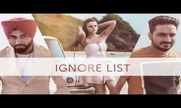 Ignore List Song Lyrics
