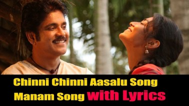 Chinni Chinni Aasalu Song Lyrics