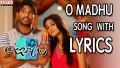 O Madhu Song Lyrics