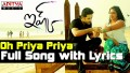 Oh Priya Priya Song Lyrics
