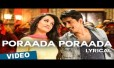 Poraada Poraada Song Lyrics