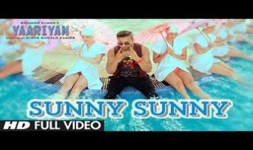 Sunny Sunny Song Lyrics