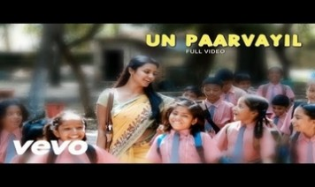 Un Paarvayil Song Lyrics